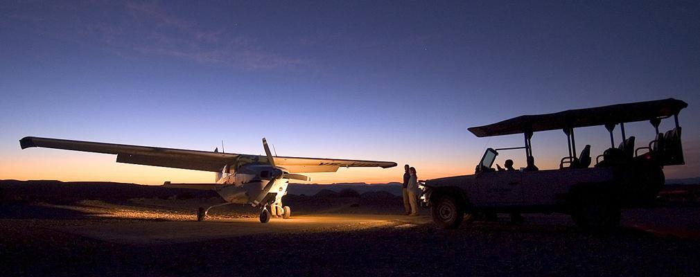 avion Namibie