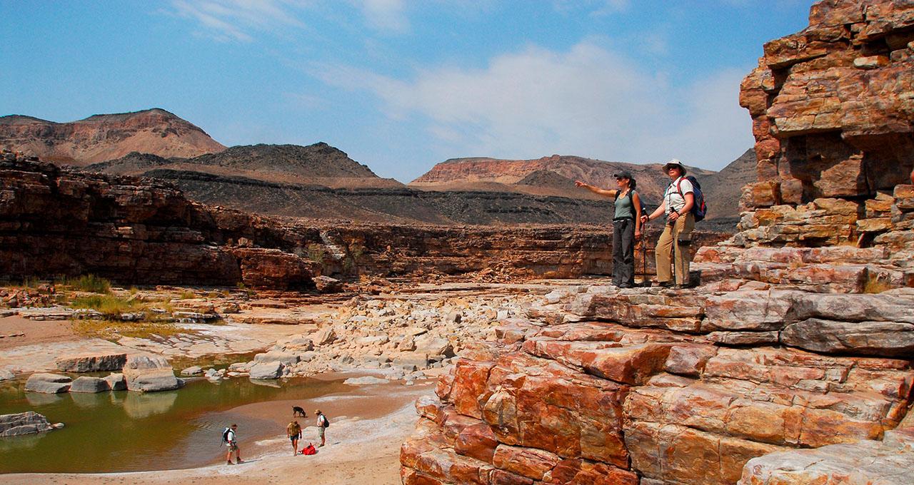 Fish river canyon Namibie