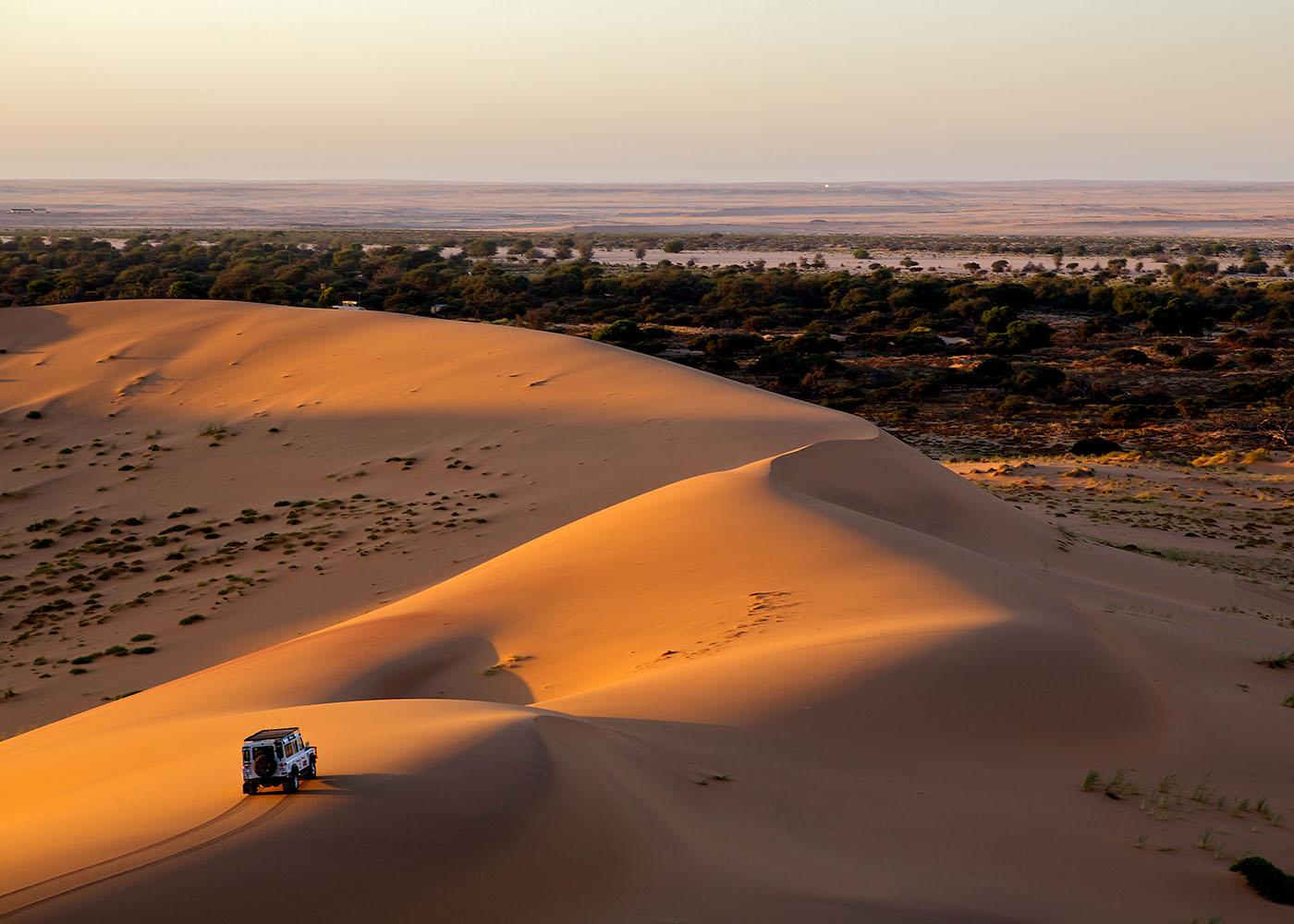 Namibie, dunes de sable